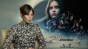 Felicity Jones Interview ROGUE ONE: A ...