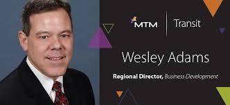 MTM Transit Welcomes Wesley Adams - MTM, Inc.
