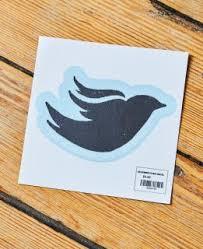 Bluebird Bird 4 5 Vinyl Decal Official Site For Bluebird Cafe Merchandise
