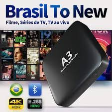 Amazon.com: 2020 Newest IPTV Brazil Brazilian TV Box A3 Box Better Than IPTV  8 Based on A2 HTV5 IPTV 5 6 Newest Upgraded Brazil Box with 250 Live  Brazilian and Massive Movies