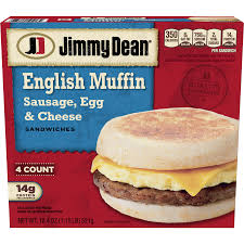 jimmy dean sausage egg cheese