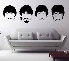 The Beatles Abbey Road 3d Smashed Wall Sticker Decal Decor Art John Lennon J733