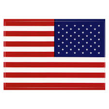 American Flag Vinyl Decal Right Hand Version