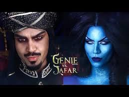 genie vs jafar genderbend makeup