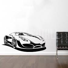 Sport Car Wall Decals Stickers Carros