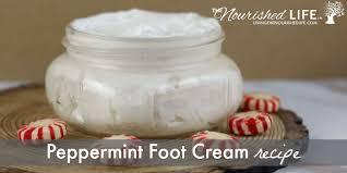 peppermint foot cream recipe the