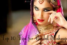 top 10 tips for bridal makeup ideas