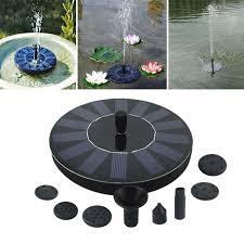 solar powered fountain pump perfect