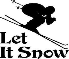 Skiing Decal Ski Down Hill Slalom Sport Car Truck Jeep Suv Vinyl Window Sticker