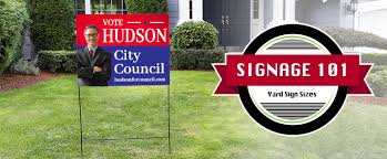 Guide To Yard Sign Sizes Signage 101 Signs Com Blog