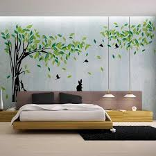 Only Furniture Lovely Tree Wall Stickers Living Room Trees Moon Vinyl Decal Wall Stickers Office Living Room Stickers Wall Room Lovely Tree Living Home Furniture