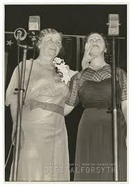 Helen Keller and Polly Thompson, 1939. Representing the American ...