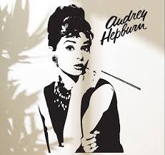 Fashion Goddess Audrey Hepburn Wall Decal Stickers Home Decor Makeup Audrey Removable Vinyl Sticker Living Room Mural D200 Cheap Wall Stickers For Bedrooms Child Wall Stickers From Fst1688 16 07 Dhgate Com