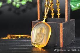 amitabha buddha necklace crystal