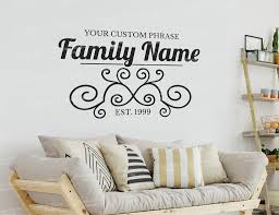 Living Room Custom Wall Decal Each Of Our Products Is Available In Every Color And Is Customizable Removable Vinyl Wall Decals Custom Wall Decal Wall Decals