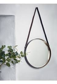leather strap mirror mirrors