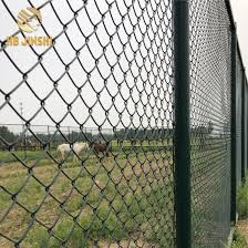 China Green Pvc Coated Chain Link Fence In Rolls China Chain Link Fence Used Chain Link Fence For Sale