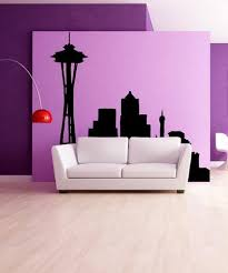 Vinyl Wall Decal Sticker Seattle Silhouette Os Mb636 Stickerbrand