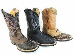 rodeo cowboy boots genuine leather