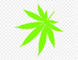 weed leaf clip art n13