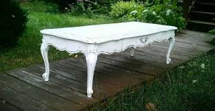 coffee table in french provincial style
