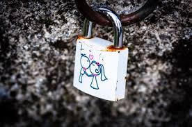 wallpaper lock love rust feelings