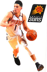 Amazon Com Devin Booker Mini Fathead Graphic Phoenix Suns Logo Official Nba Vinyl Wall Graphics This Decal Is 7 Inches Tall Arts Crafts Sewing