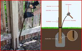 Post Buddy Fence Repair Animation Fence Post Repair Wood Fence Post Fence Post