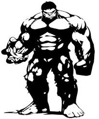The Incredible Hulk Car Van Sticker Decal Free P P Made In Yorkshire In 2020 Marvel Hulk Silhouette Art