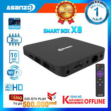 Android Tivi Box Asanzo X8