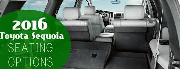 toyota sequoia have captain s chairs