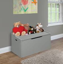 Wooden Toy Box Storage Chest Bench Top Kids Room Shoes Linen Organizer Seat Gray 787699173443 Ebay