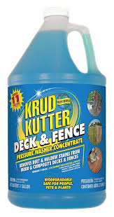 Krud Kutter Deck And Fence Cleaner 1 Gal Size For Use On Wood Fences Decks And Sidings 19mp88 Df014 Grainger