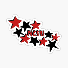 Ncsu Sticker By Hopecsurratt Redbubble