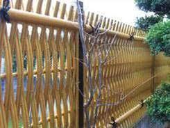Otsugaki Bamboo Fence Panel Bamboo Fence Fence Design Backyard Fences