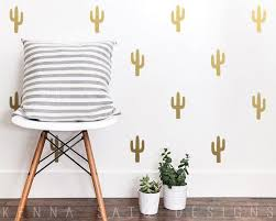 Cactus Wall Decals Cactus Decals Cactus Decor Wall Decor Etsy
