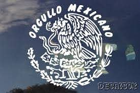 Mexican Decals Stickers Decalboy