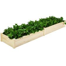 costway raised garden bed wooden