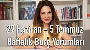 29 Haziran - 5 Temmuz Haftalık Burç Yorumları - Hande Kazanova ile ...