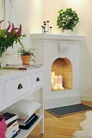 fireplace without logs is far more