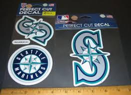 2 Lot 3 Seattle Mariners Logo Decal Sticker For Window Or Surface Fan Gift New 32085619341 Ebay
