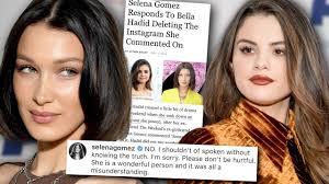 selena gomez responds to drama after