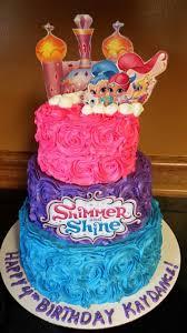 Shimmer And Shine Cake Tarta Andrea Fiesta Invitaciones De