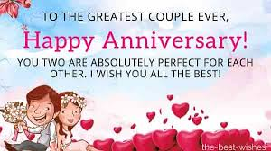 the best wedding anniversary wishes for friends and couples
