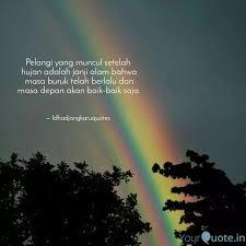 pelangi yang muncul setel quotes writings by ida djangkaru