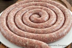 home made sicilian pork sausage with fennel
