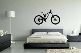 Ghost Downhill Mountain Bike Wall Art Vinyl Decal Sticker Removable Graphic Xl Vinyl Wall Art Room Mountain Biking