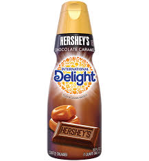 hershey s chocolate caramel coffee creamer