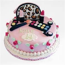 makeup set strawberry birthday cake 3