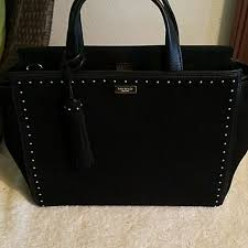 Kate Spade Bags | Nwt Suede Abby West Street Black Purse | Poshmark